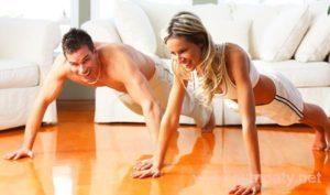 Как уговорить мужа заняться спортом?