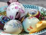 Фарфоровые пасхальные яйца