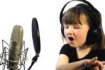 Обучение вокалу в продюсерском центре для детей